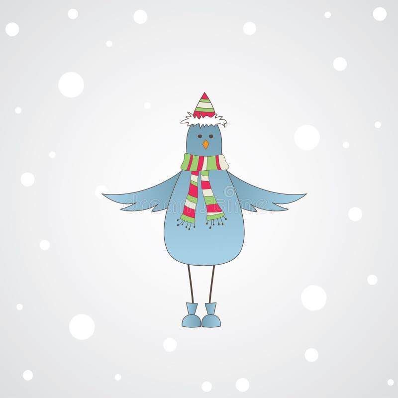 Download Pássaro azul com mensagem. ilustração do vetor. Ilustração de pastel - 16857937