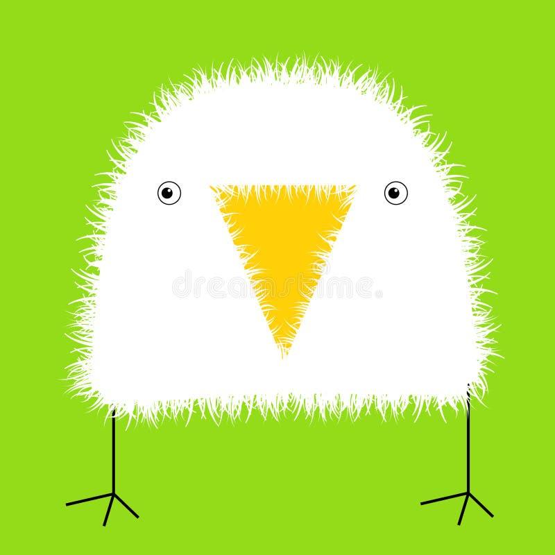 Pássaro de bebê ilustração stock