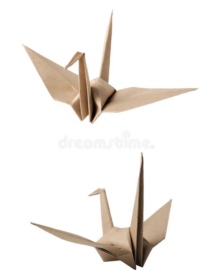 Pássaro de Origami fotos de stock