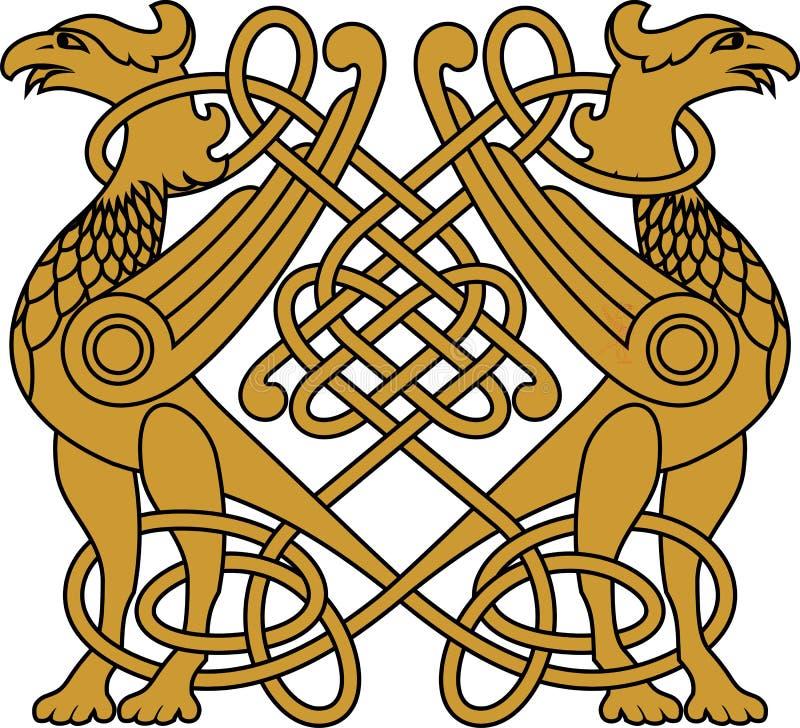 Pássaro do ouro ilustração do vetor