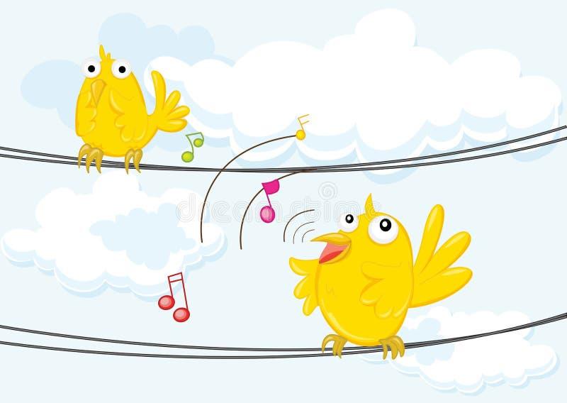Pássaros ilustração do vetor