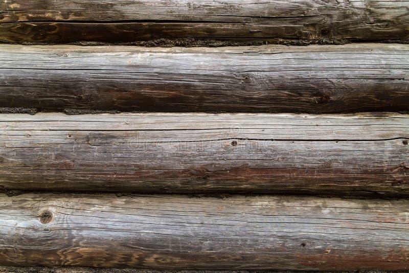 Pátina natural rústica resistida vieja del color de la textura del modelo de los registros de los tableros imágenes de archivo libres de regalías