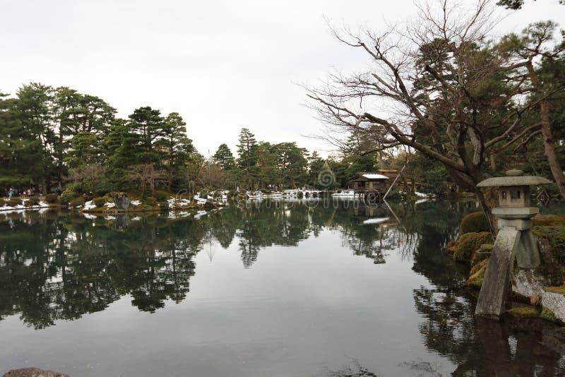 Pátio de Japão imagem de stock