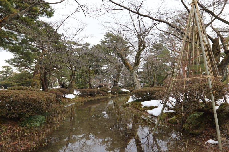Pátio de Japão foto de stock