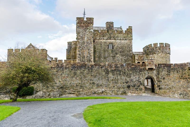 Pátio do castelo de Cahir fotos de stock royalty free
