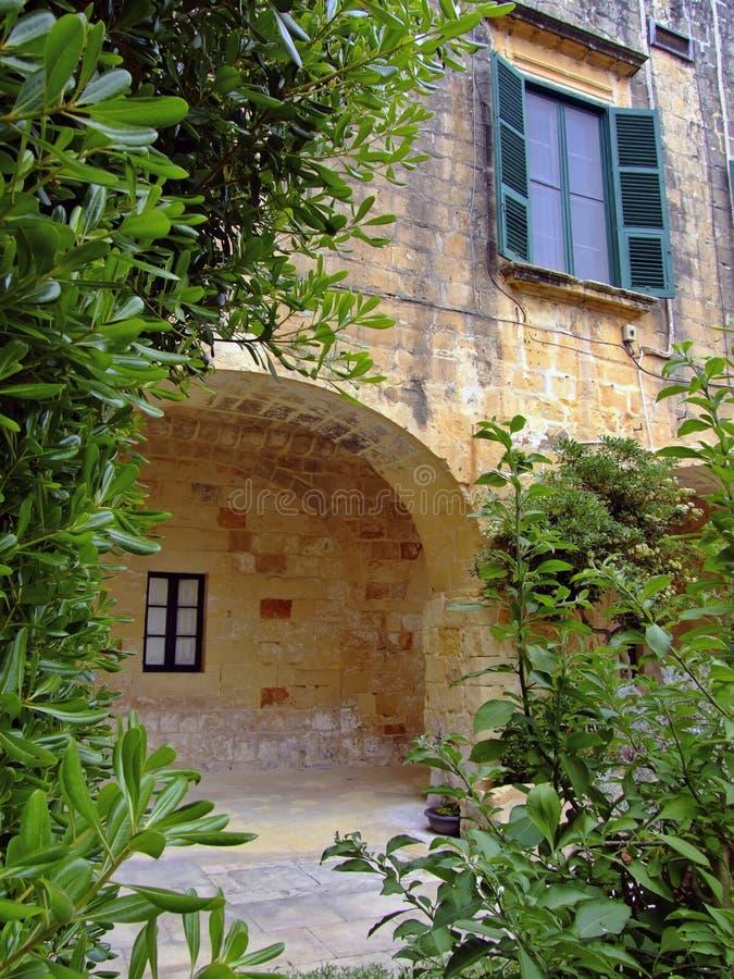 Pátio do palácio imagem de stock