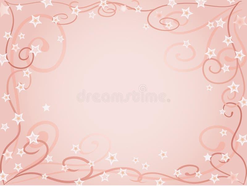 Pâlissez - le fond rose illustration libre de droits