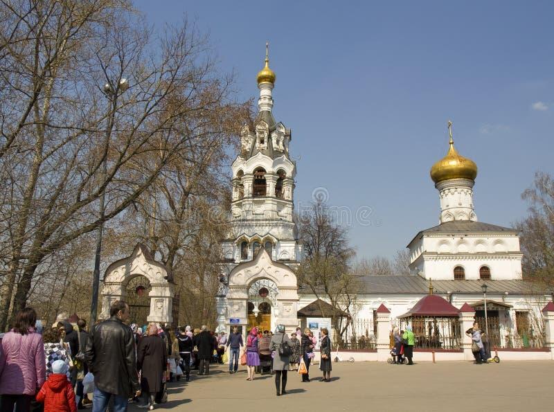 Pâques à Moscou images stock