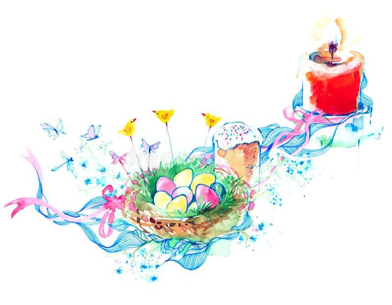 Pâques illustration de vecteur