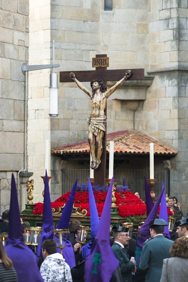 Pâques en Galicie Espagne photos stock