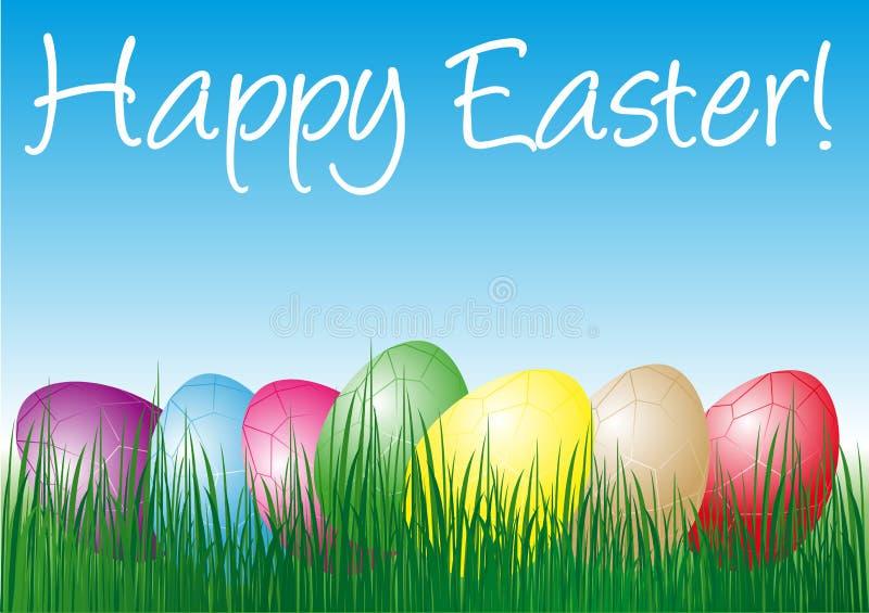 Pâques heureuse illustration stock