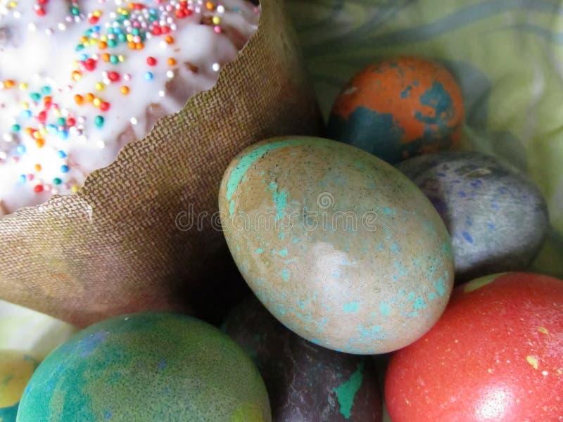 Pâques  Jour heureux Pâques lumineuse Vacances orthodoxes Ressort images libres de droits