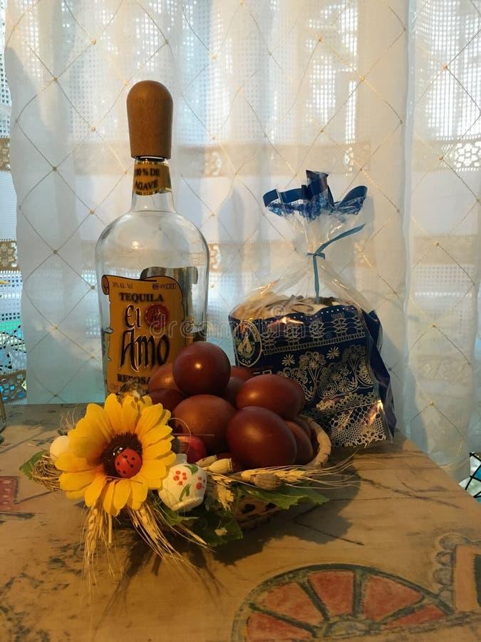 Pâques russe photo stock