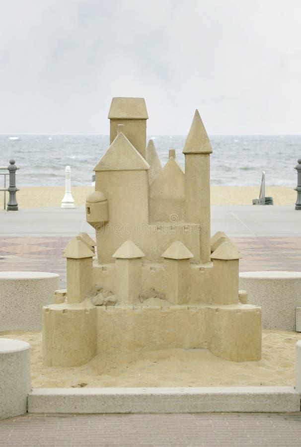 Pâté de sable énorme images stock