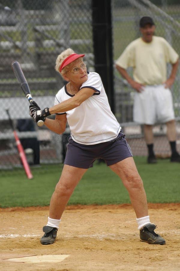 Pâte lisse du base-ball photos stock