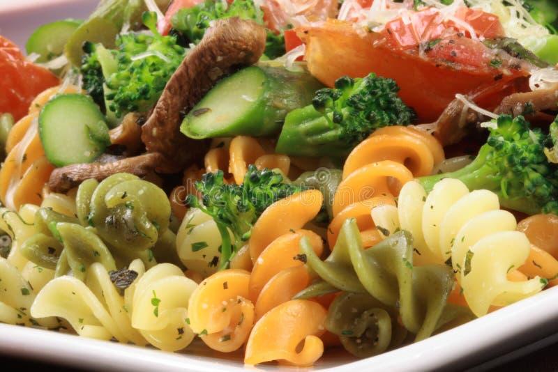 Pâtes de sauce à légumes image stock