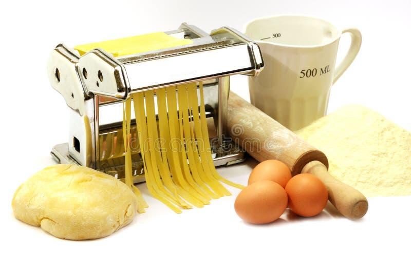 Pâtes faites maison image stock