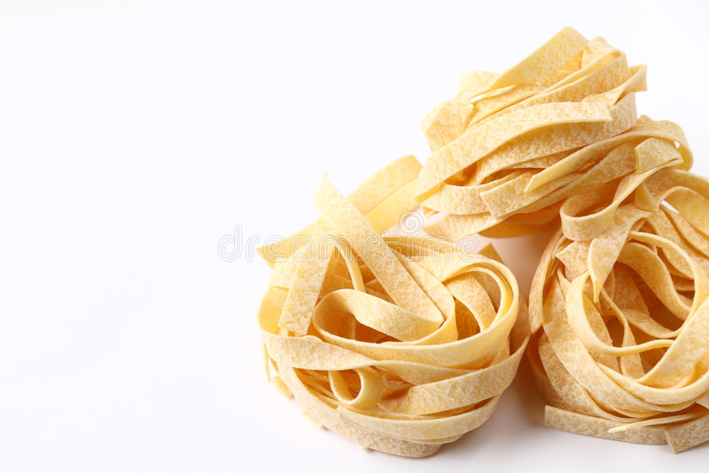 pâtes fraîches photographie stock libre de droits