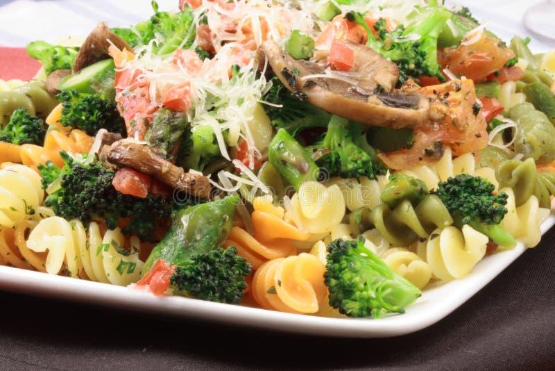 Pâtes organiques de légumes images libres de droits