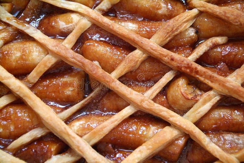 Pâtisserie caramélisée de bananes photographie stock libre de droits