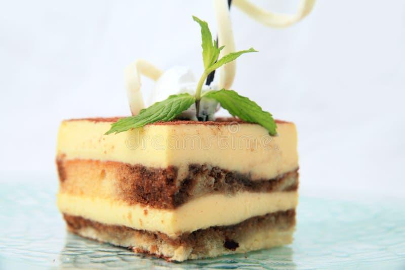 Pâtisserie de gâteau de couche images stock