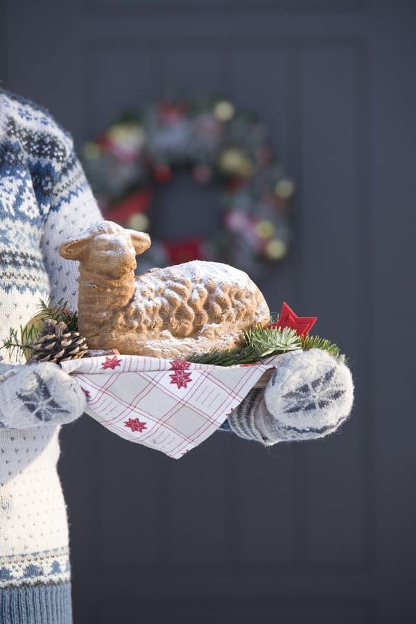 Pâtisserie de Noël photographie stock libre de droits