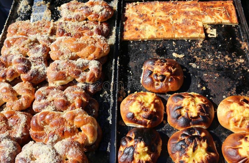 Pâtisserie roumaine traditionnelle images libres de droits