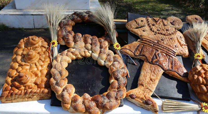 Pâtisserie roumaine traditionnelle image libre de droits