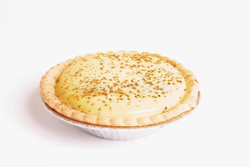 Pâtisserie : Tarte de crème images libres de droits