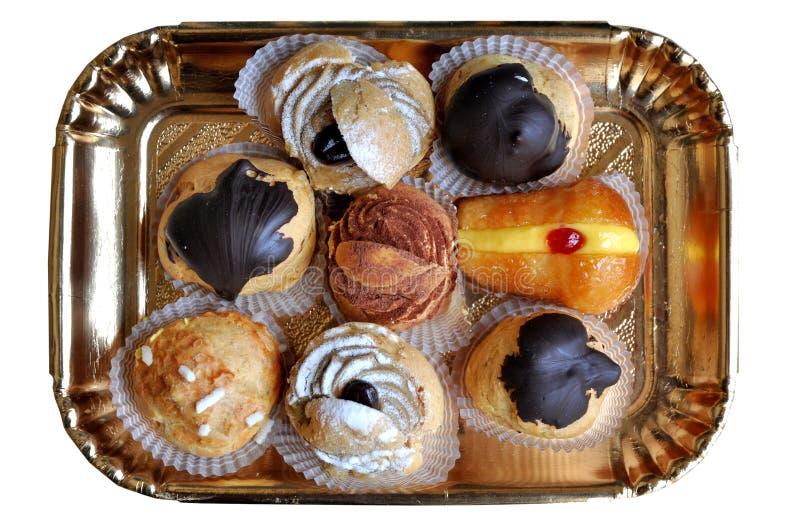 Pâtisseries douces image libre de droits