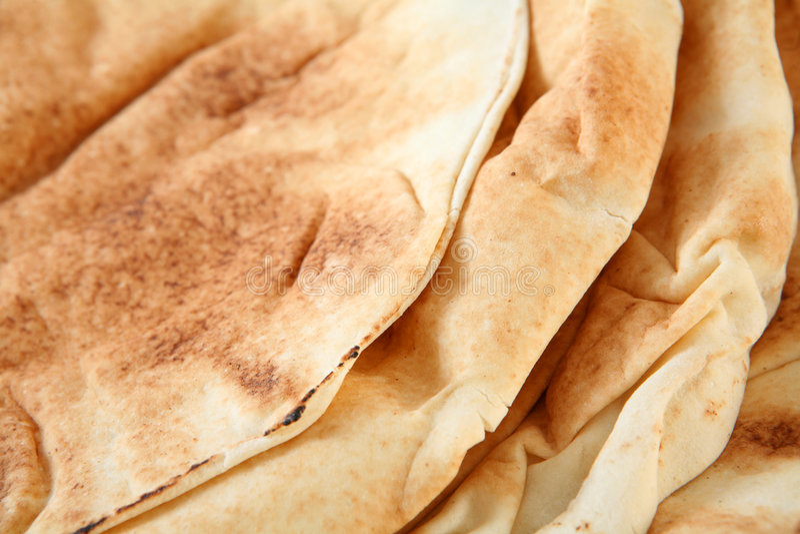 Pão árabe imagens de stock