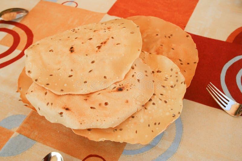 Pão Índio na Prata foto de stock