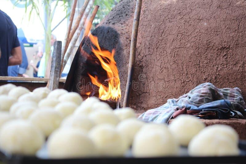 Pão brasileiro do queijo imagens de stock