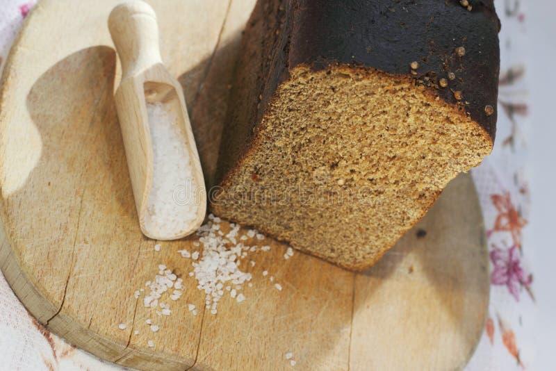 Pão caseiro de Rye fotografia de stock royalty free