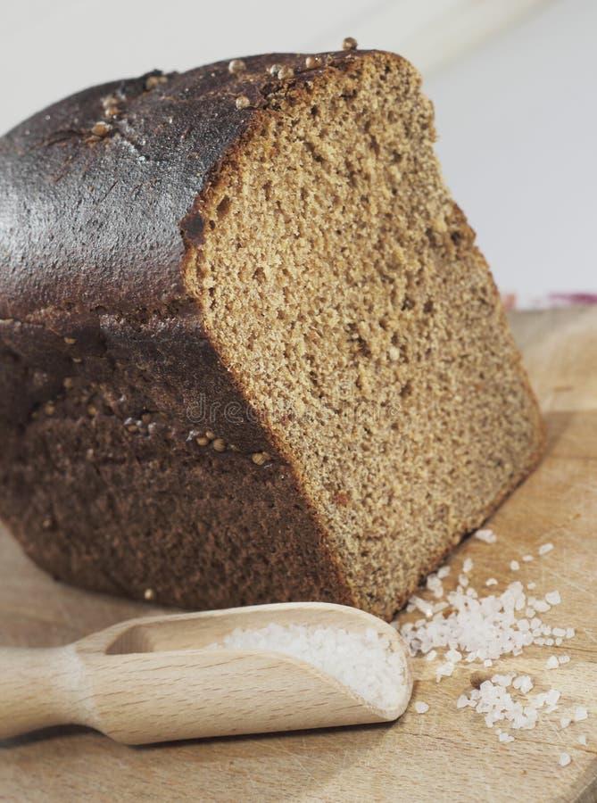 Pão caseiro de Rye imagem de stock