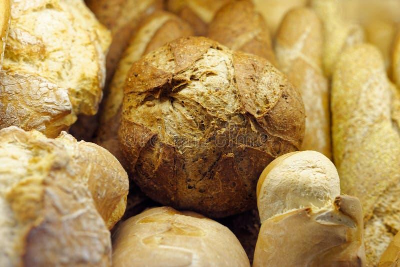 Pão caseiro do trigo fotografia de stock