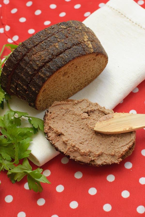 Pão caseiro fresco foto de stock