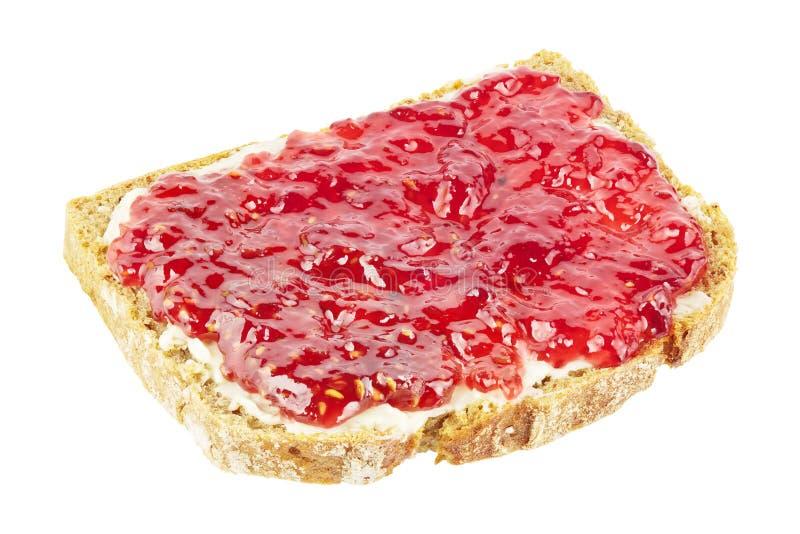 Pão com doce imagem de stock