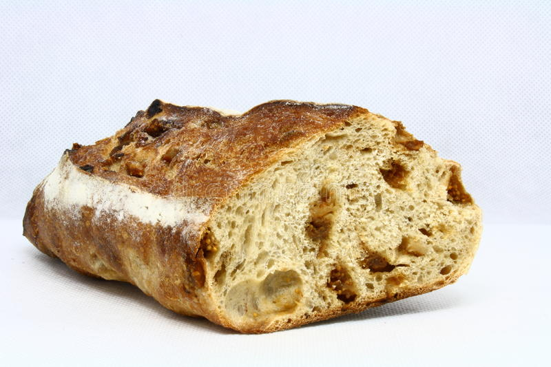 Pão com figues foto de stock