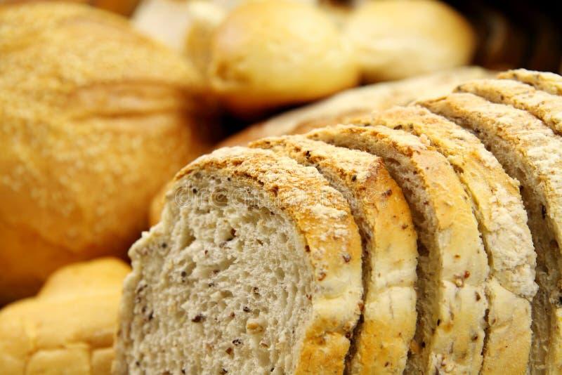 Download Pão cortado imagem de stock. Imagem de gourmet, loaf - 10055717
