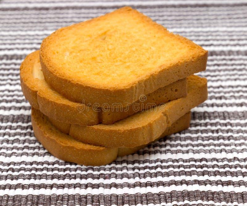 Pão cozido friável delicioso caseiro do biscoito fotografia de stock royalty free