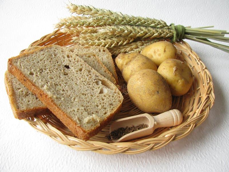 Pão da batata imagem de stock