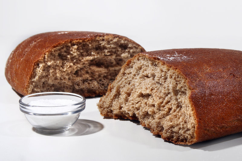 Pão de Brown foto de stock