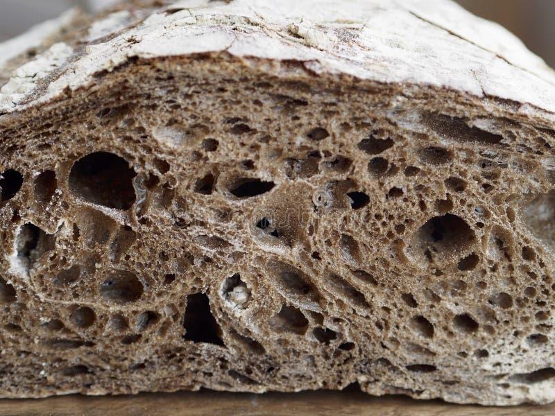Pão de centeio do malte imagens de stock