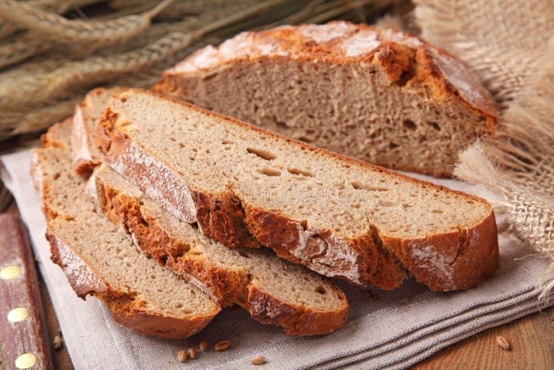 Pão de centeio redondo imagens de stock royalty free