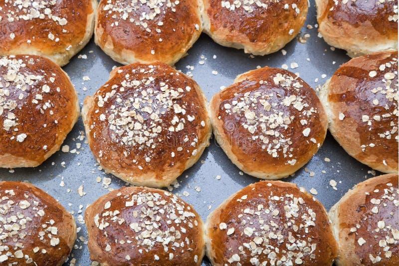 Pão de Molassas da farinha de aveia fotos de stock royalty free