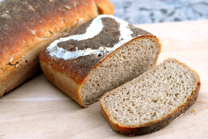 pão de sourdough foto de stock