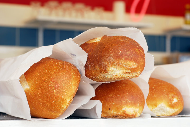 Pão de Sourdough imagem de stock