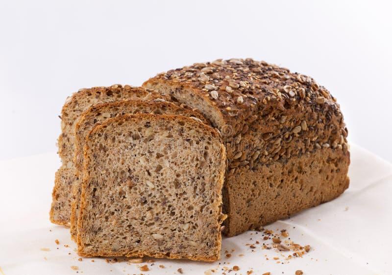 Pão de trigo inteiro fotografia de stock royalty free