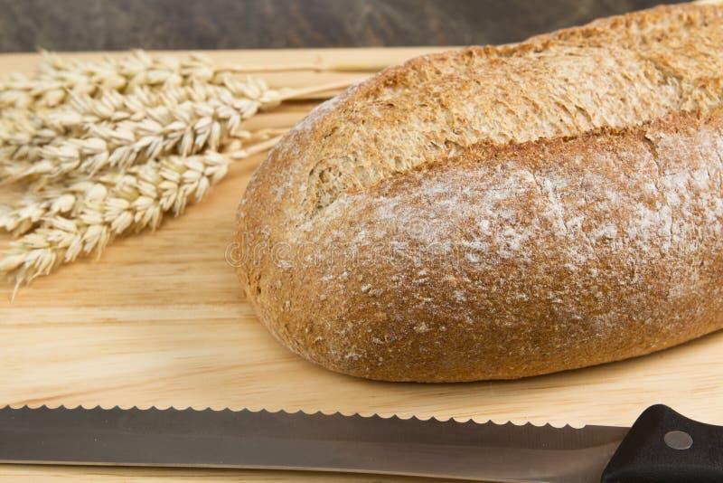 Pão de Wholemeal imagens de stock royalty free
